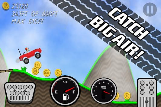 Road Rush Racing Up Hill Climb screenshot 5