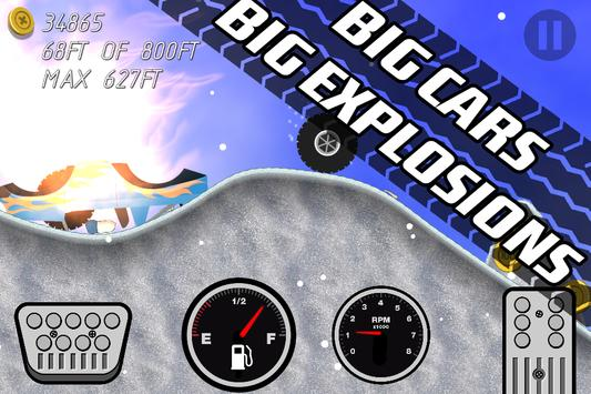 Road Rush Racing Up Hill Climb screenshot 6