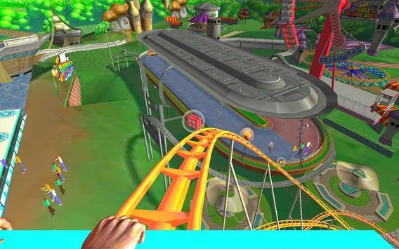 Roller Coaster VR Attraction Slide Adventure 3D poster