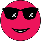 rolling red ball colors icon