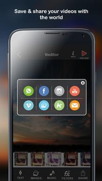 Veditor - Video editor apk screenshot