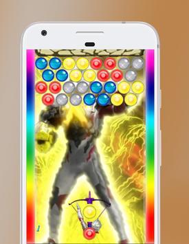Bubble Ultraman Toy fun apk screenshot