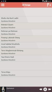 Sholawat Sharla Roqqot Aina MP3 apk screenshot