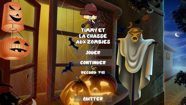 Timmy Et La Chasse Aux Zombies poster