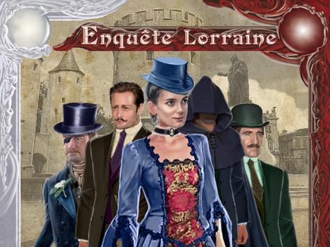 Enquete Lorraine poster