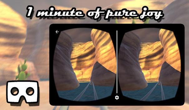 VR Canyon RollerCoaster Ride apk screenshot