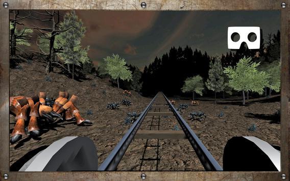 VR Horror in the Forest 2 (Google Cardboard) apk screenshot