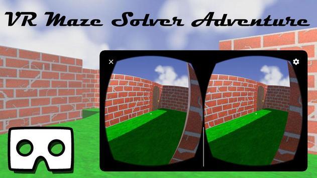 VR Maze Solver Adventure (Google Cardboard) poster