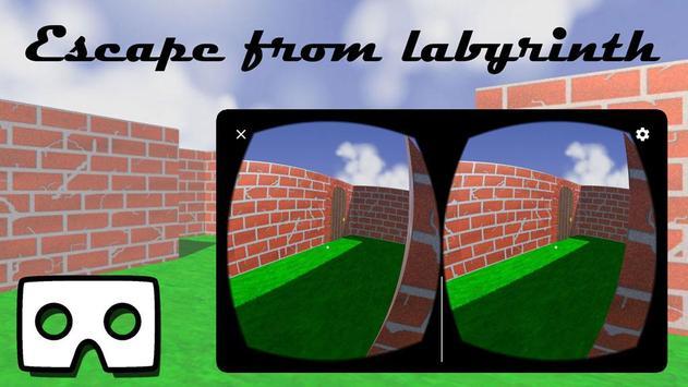 VR Maze Solver Adventure (Google Cardboard) apk screenshot