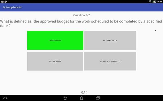Training Byte Size – Quiz Manager apk screenshot