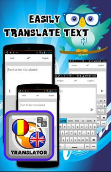 Romanian En Translate apk screenshot