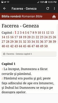 3 Schermata Biblia în limba română