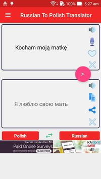 Romanian Polish Translator screenshot 1