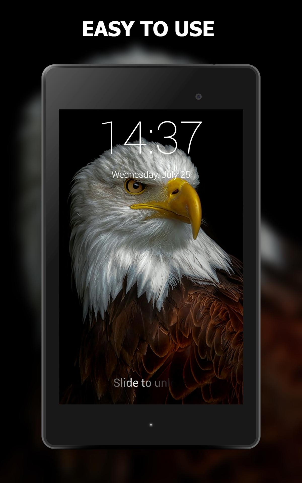 Eagle Lock Screen Wallpaper For Android Apk Download