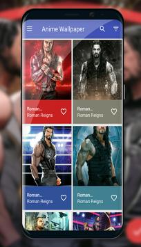 New Roman Reigns 4K Wallpapers 2018 poster