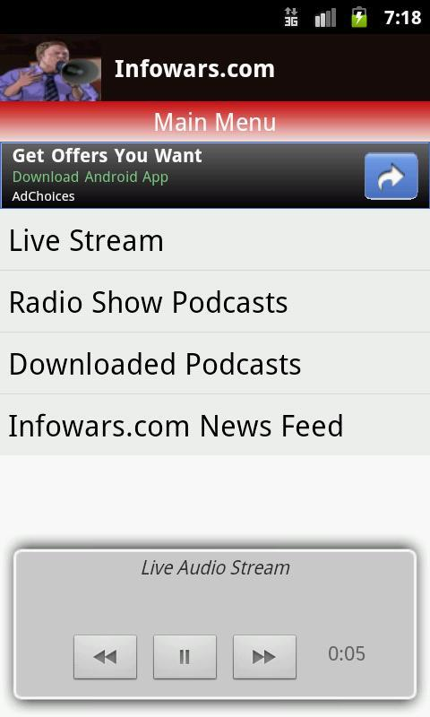 Alex Jones Multicast for Android - APK Download