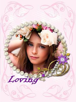 Love Background Photo Frames Maker screenshot 5