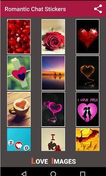 Romantic love Stickers screenshot 1