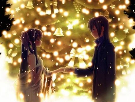 Romantic Anime Wallpaper Poster