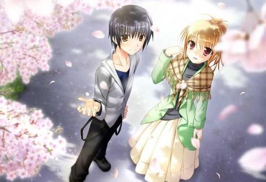 Romantic Anime Wallpaper screenshot 2