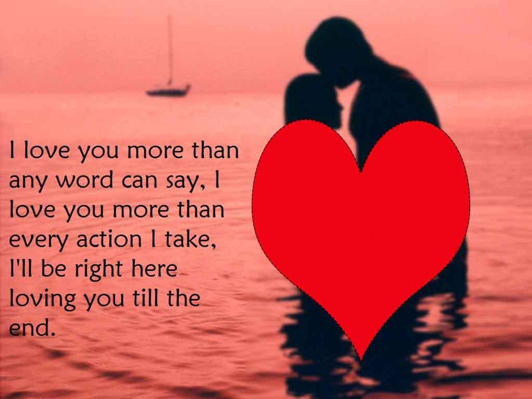 Romantic love messages images for Android - APK Download