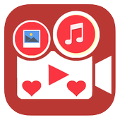 Valentine Video Maker With Music Pro 2018 icon