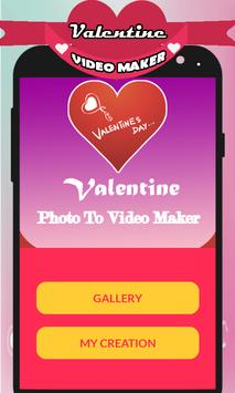 Valentine Video Maker With Music Pro 2018 poster