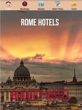 Rome Hotels poster
