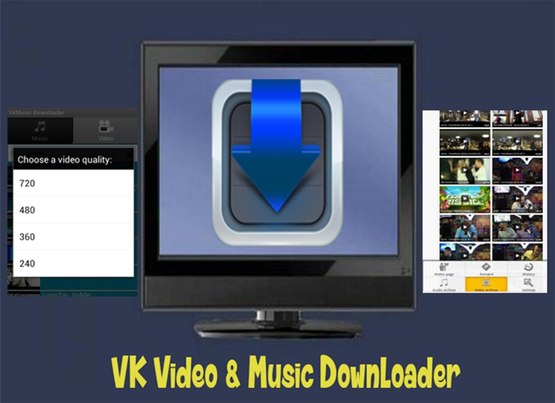 how to download music from vk com
