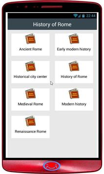 History of Rome poster