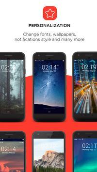 IOS11 style Lock Screen apk screenshot
