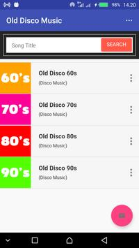 Old Disco Music 60s 70s 80s 90s poster