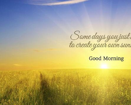 Good Morning Quotes Pictures Wallpapers apk screenshot
