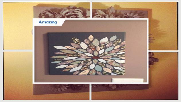 Awesome DIY 3D Flower Artwork screenshot 2