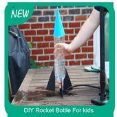 DIY Rocket Bottle For kids icon