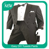 Easy DIY Tuxedo Pants icon