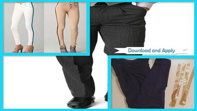 Easy DIY Tuxedo Pants screenshot 1