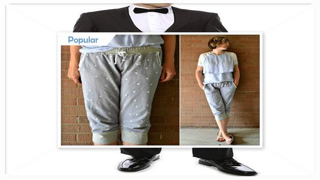 Easy DIY Tuxedo Pants apk screenshot