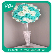 Perfect DIY Rose Bouquet Ball icon