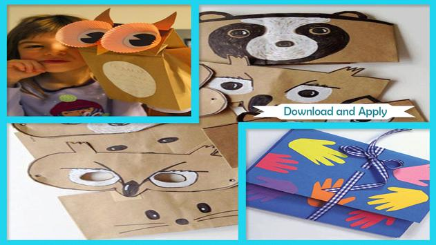 Simple DIY Paper Bag Portofolios For Teachers Day apk screenshot