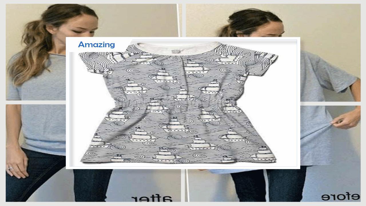 Unique old T-shirt turned Dress for Ki poster