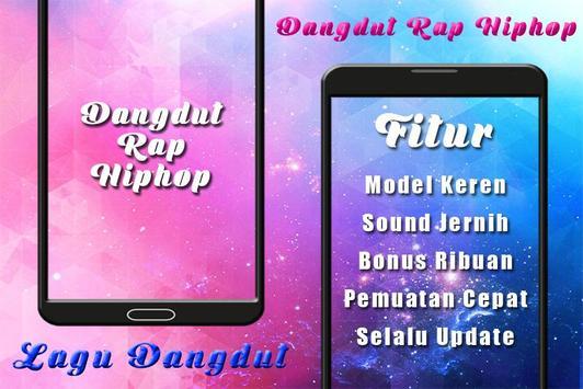 Top Dangdut Rap Hiphop Mp3 captura de pantalla 1