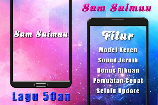 Top 50an Sam Saimun Lawas screenshot 2