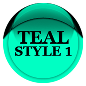 Teal Icon Pack Style 1 v3.0 Free icon