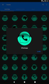 Teal Icon Pack Style 1 v3.0 Free screenshot 19