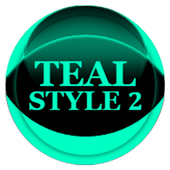 Teal Icon Pack Style 2 icon