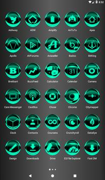 Teal Icon Pack Style 2 apk screenshot