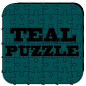 Teal Puzzle Icon Pack icon