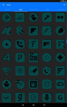 Teal Puzzle Icon Pack apk screenshot