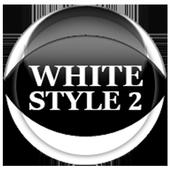 White Icon Pack Style 2 icon